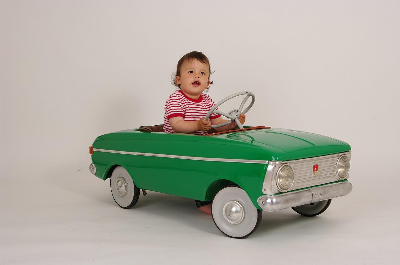 Wie Kinder das Fahren lernen